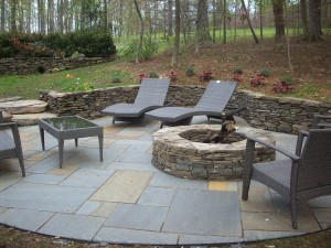 patio, fire pit in Leesburg, VA